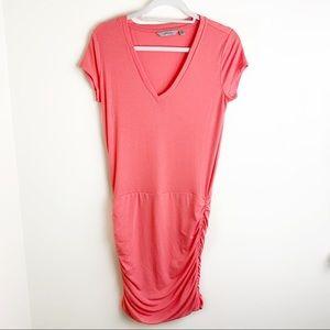 Athleta V-neck Cinched Bottom Dress